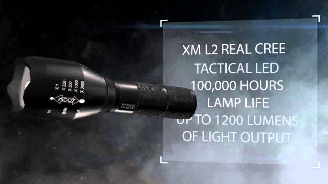 1TAC 1200 lumens